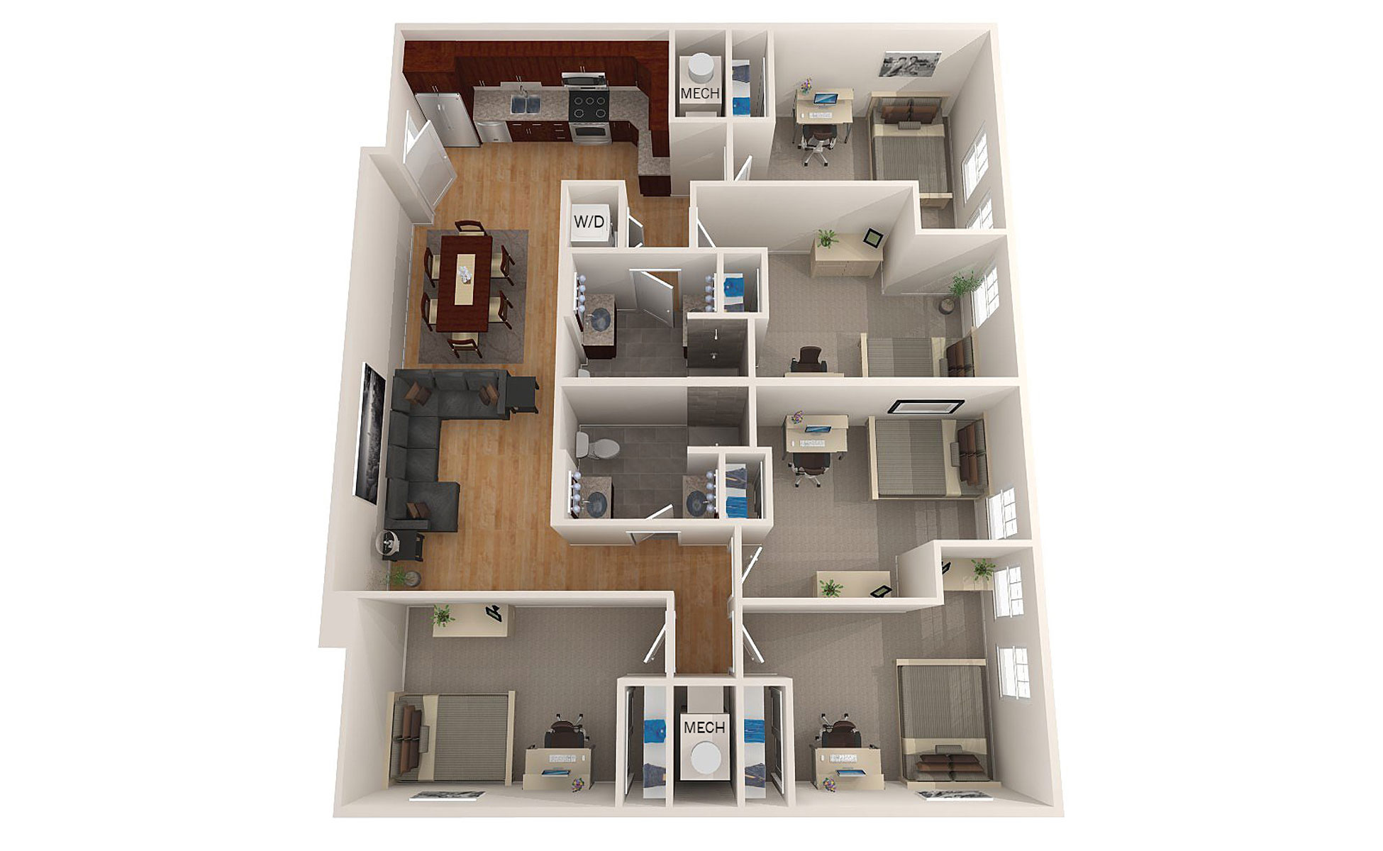 Unh off campus apartments riversedge layouts pricing for New model apartment